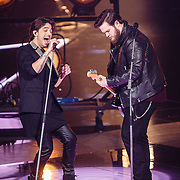 NLD/Hilversum/20160129 - Finale The Voice of Holland 2016, Dave Vermeulen en Waylon