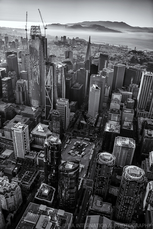 Core of Downtown San Francisco II (monochrome)