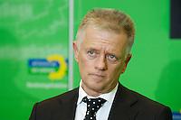 24 JAN 2006, BERLIN/GERMANY:<br /> Fritz Kuhn, B90/Gruene Fraktionsvorsitzender, waehrend einem Pressestatement, vor Beginn der Fraktionssitzung von B90/Gruene, Deutscher Bundestag <br /> IMAGE: 20060124-01-035