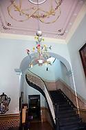 Mansion in Gibara, Holguin, Cuba.
