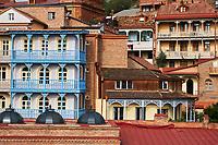 Georgie, Caucase, Tbilissi, vieille ville  // Georgia, Caucasus, Tbilisi, old city,