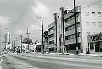 1973 Looking west from Sunset Blvd. & Horn Ave.