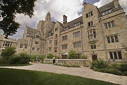 Yale University Campus, The Branford College Quad in June