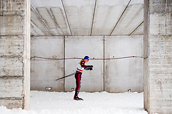 January 6, 2018 - Val Di Fiemme, ITALY - 180106 Alexander Bolshunov of Russia competes in men's 15km mass start classic technique during Tour de Ski on January 6, 2018 in Val di Fiemme..Photo: Jon Olav Nesvold / BILDBYRN / kod JE / 160123 (Credit Image: © Jon Olav Nesvold/Bildbyran via ZUMA Wire)