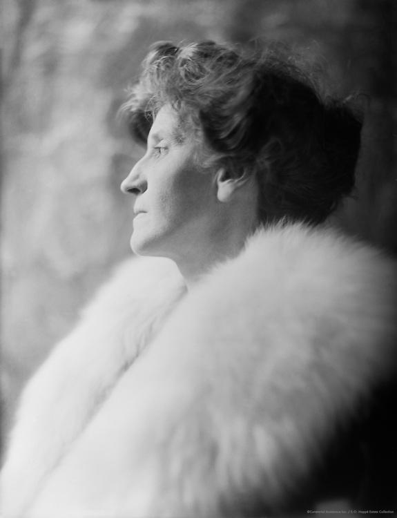 Violet Hunt, English Author, 1912