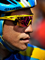 CYCLING - TOUR DE FRANCE 2010 - MENDE (FRA) - 16/07/2010 - PHOTO : VINCENT CURUTCHET / DPPI - <br /> STAGE 12 - BOURG DE PEAGE > MENDE - ALBERTO CONTADOR (ESP) / ASTANA