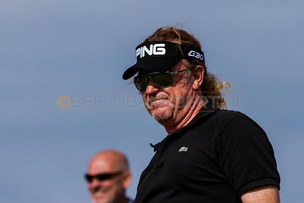 10-09-2014 Foto's van de eerste Pro-Am van het KLM Open 2014, gespeeld op woensdag op de Kennemer Golf & Country Club in Zandvoort, Nederland.