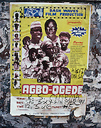 Movie Poster in Lagos - Nigeria