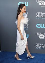 23rd Annual Critics' Choice Awards - Arrivals. 11 Jan 2018 Pictured: Angelina Jolie. Photo credit: Jaxon / MEGA TheMegaAgency.com +1 888 505 6342