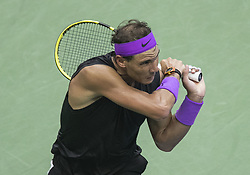 September 8, 2019, Flushing Meadows, New York, United States of America: Rafael Nadal during his Men Singles Finals match against Daniil Medvedev on Day 14 of the 2019 US Open at USTA Billie Jean King National Tennis Center on Sunday September 8, 2019 in the Flushing neighborhood of the Queens borough of New York City. JAVIER ROJAS/PI (Credit Image: © Prensa Internacional via ZUMA Wire)