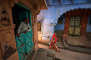 Jodhpur - The Blue CIty - was historically the capital of the Kingdom of Marwar, now part of Rajasthan. It is the most important city of Rajasthan after the capital Jaipur, central to the Thar desert region and its colourful culture.