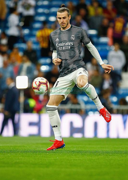 March 2, 2019 - Madrid, Spain - Real Madrid CF's Gareth Bale during La Liga match between Real Madrid and FC  Barcelona at Santiago Bernabéu in Madrid..Final Score: Real Madrid 0 - 1 FC Barcelona (Credit Image: © Manu Reino/SOPA Images via ZUMA Wire)