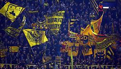 November 21, 2017 - Dortmund, Germany - Borussia Dortmund Flags. during UEFA Champion  League Group H Borussia Dortmund between Tottenham Hotspur played at Westfalenstadion, Dortmund, Germany 21 Nov 2017  (Credit Image: © Kieran Galvin/NurPhoto via ZUMA Press)