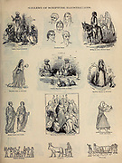 Gallery of Scripture Illustrations of Biblical Lifestyle and Fashion from ' The Doré family Bible ' containing the Old and New Testaments, The Apocrypha Embellished with Fine Full-Page Engravings, Illustrations and the Dore Bible Gallery. Published in Philadelphia by William T. Amies in 1883