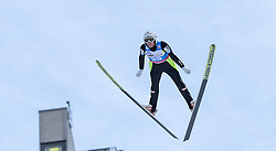 30.01.2016, Normal Hill Indiviual, Oberstdorf, GER, FIS Weltcup Ski Sprung Ladis, Bewerb, im Bild Daniela Iraschko Stolz (AUT) // Daniela Iraschko Stolz of Austria during her Competition Jump of FIS Ski Jumping World Cup Ladis at the Normal Hill Indiviual, Oberstdorf, Germany on 2016/01/30. EXPA Pictures © 2016, PhotoCredit: EXPA/ Peter Rinderer