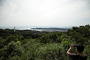 panoramic view overlooking Kamakura in the distance Japan