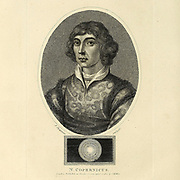 Nicolaus Copernicus (Polish: Mikołaj Kopernik; German: Niclas Koppernigk, modern: Nikolaus Kopernikus; 19 February 1473 – 24 May 1543) was a Renaissance-era mathematician, astronomer, and Catholic canon who formulated a model of the universe that placed the Sun rather than Earth at its center. In all likelihood, Copernicus developed his model independently of Aristarchus of Samos, an ancient Greek astronomer who had formulated such a model some eighteen centuries earlier Copperplate engraving From the Encyclopaedia Londinensis or, Universal dictionary of arts, sciences, and literature; Volume V;  Edited by Wilkes, John. Published in London in 1810