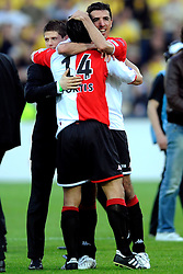 27-04-2008 VOETBAL: KNVB BEKERFINALE FEYENOORD - RODA JC: ROTTERDAM <br /> Feyenoord wint de KNVB beker - Roy Makaay<br /> ©2008-WWW.FOTOHOOGENDOORN.NL