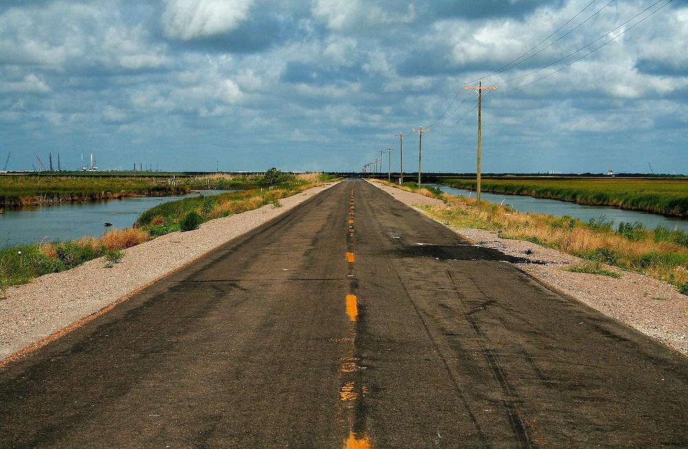 Louisiana State Rte. 82, Looking West Toward Texas