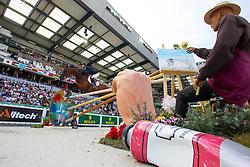 Patrice Delaveau, (FRA), Zenith SFN - Show Jumping Final Four - Alltech FEI World Equestrian Games™ 2014 - Normandy, France.<br /> © Hippo Foto Team - Leanjo de Koster<br /> 07-09-14
