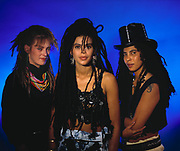 Amazulu - a British ska/pop band from the 1980s - a trio of Anne-Marie Ruddock, Sharon Bailey and Lesley Beach