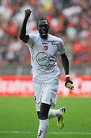 FOOTBALL - FRENCH CHAMPIONSHIP 2011/2012 - L1 - PARIS SG v VALENCIENNES FC - 21/08/2011 - PHOTO GUY JEFFROY / DPPI - JOY REMI GOMIS (VAL)