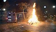 Nederland, Nijmegen, 1-1-2014Nieuwjaar met vuurwerk in Nijmegen-oost.Foto: Flip Franssen/Hollandse Hoogte
