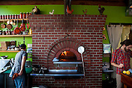 Ned Ludd, a restaurant in NE Portland, where nearly every dish is cooked in the restaurant's wood burning oven. The Wood Burning Oven with chef Benjamin Meyer.