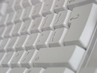 Detail of keyboard