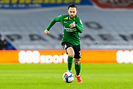 Birmingham City's Ivan Sanchez (17) dribbles the ball during the EFL Sky Bet Championship match between Cardiff City and Birmingham City at the Cardiff City Stadium, Cardiff, Wales on 16 December 2020.