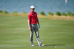 March 21, 2018 - Austin, TX, U.S. - AUSTIN, TX - MARCH 21: Zach Johnson gets ready to hit his approach shot during the First Round of the WGC-Dell Technologies Match Play on March 21, 2018 at Austin Country Club in Austin, TX. (Photo by Daniel Dunn/Icon Sportswire) (Credit Image: © Daniel Dunn/Icon SMI via ZUMA Press)