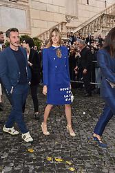 Rome, Piazza Del Campidoglio Event Gucci Parade at the Capitoline Museums, In the picture: Benedetta Porcaroli