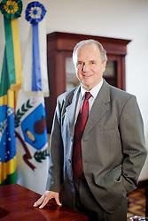 O prefeito de Venâncio Aires, Airton Luiz Artus, no gabinete da prefeitura. FOTO: Jefferson Bernardes/Preview.com