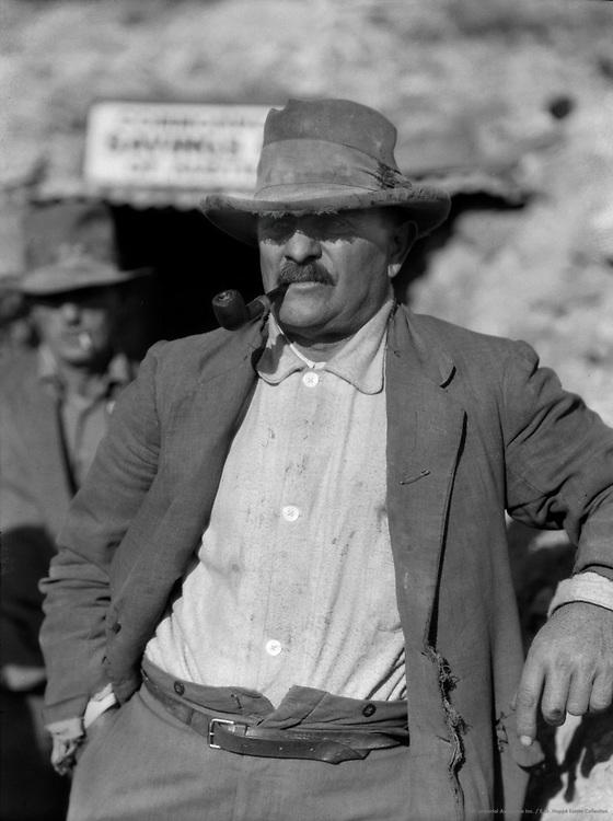 A Hard Case, Coober Pedy Opal Fields, South Australia, 1930