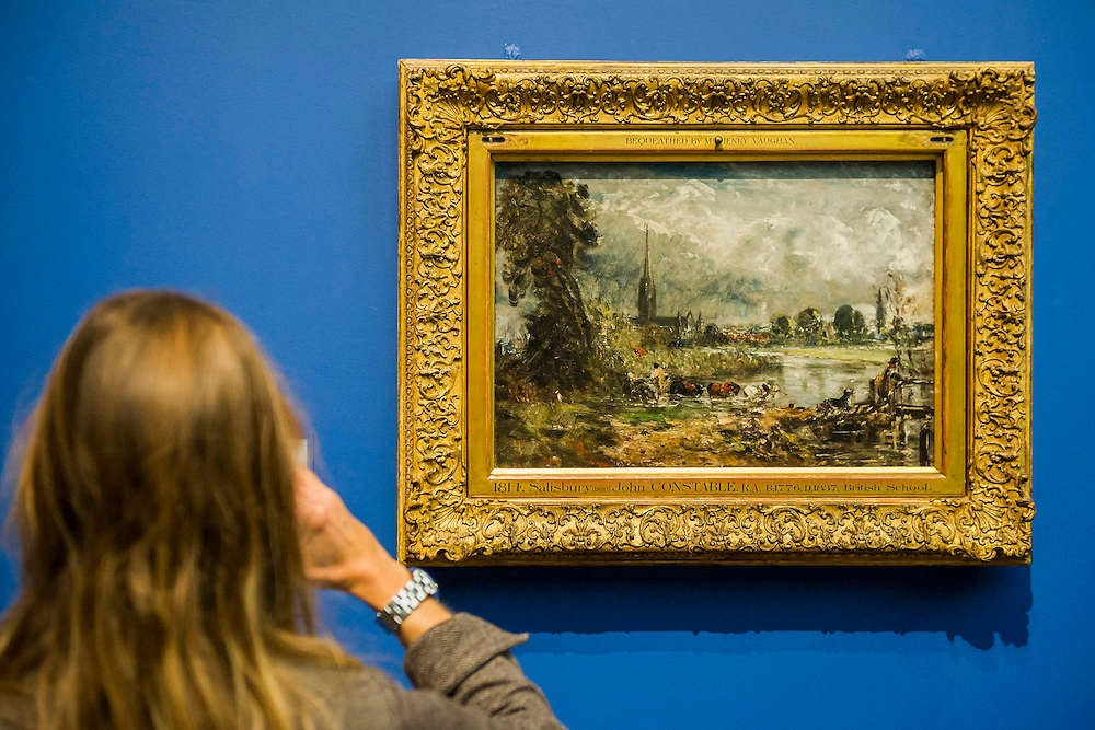 Salisbury Cathedral - Constable: The Making of a Master is the new exhibition from the V&A. It is designed to reveal the hidden stories of how John Constable created some of his most loved and well-known paintings. Highlights include: The Haywain; and the oil sketches he painted outdoors direct from nature.  The show runs from  20 September 2014 - 11 January 2015.