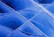 Ice cracks, Ellesmere Island, Nunavut, Canada