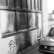 NLD/Amersfoort/19920127 - Rascistische spreuken en brandpoging op de Mevlana moskee Amersfoort