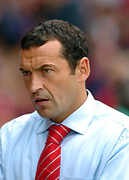 Photo: Leigh Quinnell.<br /> Nottingham Forest v Brighton & Hove Albion. Coca Cola League 1. 19/08/2006. Nottingham Forest manager Colin Calderwood.