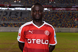 02.07.2015, Esprit Arena, Duesseldorf, GER, 2. FBL, Fortuna Duesseldorf, Fototermin, im Bild Didier Ya Konan ( Fortuna Duesseldorf / Portrait ) // during the official Team and Portrait Photoshoot of German 2nd Bundesliga Club Fortuna Duesseldorf at the Esprit Arena in Duesseldorf, Germany on 2015/07/02. EXPA Pictures © 2015, PhotoCredit: EXPA/ Eibner-Pressefoto/ Thienel<br /> <br /> *****ATTENTION - OUT of GER*****