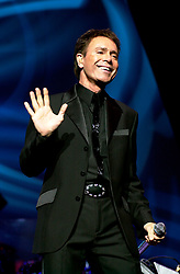 Cliff Richard in concert Hallam FM Arena Sheffield first of three nights Wanted tour 8 November 2002<br /> <br /> Image copyright Paul David Drabble