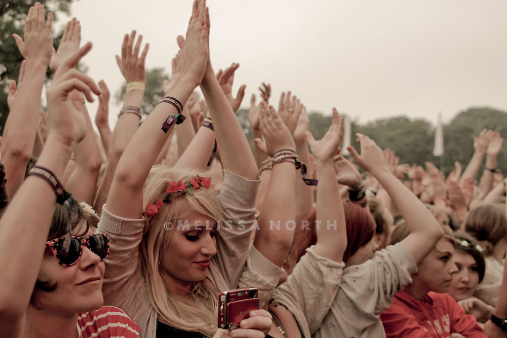 Atmosphere at Camp Bestival, Lulworth on 30th July. Photograph by Melissa North.