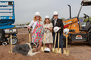 Chasse Building Team Heidi's Village Groundbreaking Event