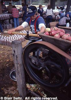 Antique Apple Press, Apple Festival, Adams Co., PA