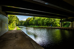 Tinsley and Sheffield Canal view from under the Sheffield Outer Ring Road bridge looking towards Tinsley Marina<br />  06 September 2020<br /> <br /> www.pauldaviddrabble.co.uk<br /> All Images Copyright Paul David Drabble - <br /> All rights Reserved - <br /> Moral Rights Asserted -
