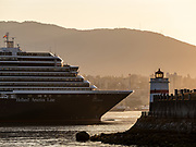 Holland America Cruise Ship, Stanley Park, Vancouver, British Columbia, Canada