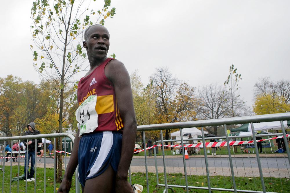 John Kimaiyo, first place with 35:19 mins.