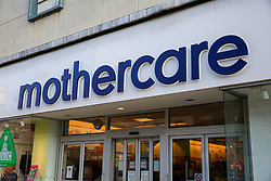 © Licensed to London News Pictures. 04/11/2019. London, UK. Mothercare branch on Wood Green High Road in north London. <br /> Mothercare - the mother-and-baby retailer and an Early Learning Centre is to appoint administrators for its 79 UK high street stores following lost of £36.3m last year and putting 2,500 jobs at risk. Photo credit: Dinendra Haria/LNP