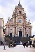Cathedral of San Giorgio in Ragusa Ibla, Sicily