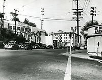 1935 Clover Club on Sunset Blvd.