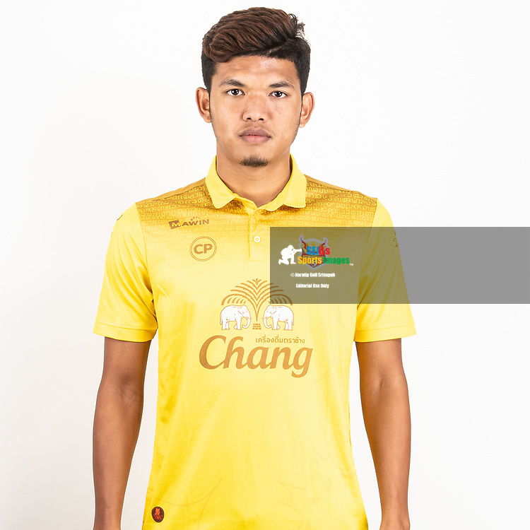 THAILAND - JUNE 29: Prasittichai Perm #99 of Sukhothai FC on June 29, 2019.<br /> .<br /> .<br /> .<br /> (Photo by: Naratip Golf Srisupab/SEALs Sports Images/MB Media Solutions)